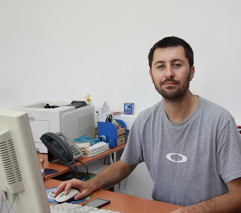 Dusan Milanov, from the Career Center and the Alumni club of UGD